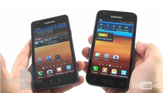 galaxys2 vs galaxyR [Video] Samsung Galaxy S2 vs. Samsung Galaxy R