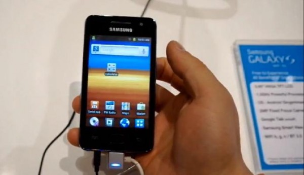 Samsung GalaxyS 36WiFi 600x345 [Video] Samsung Galaxy S 3.6 WiFi im Hands On
