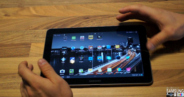 GalaxyTab101 Review [Video] Samsung Galaxy Tab 10.1 (schwarz) Review deutsch   wie gut ist das verbotene Tablet?