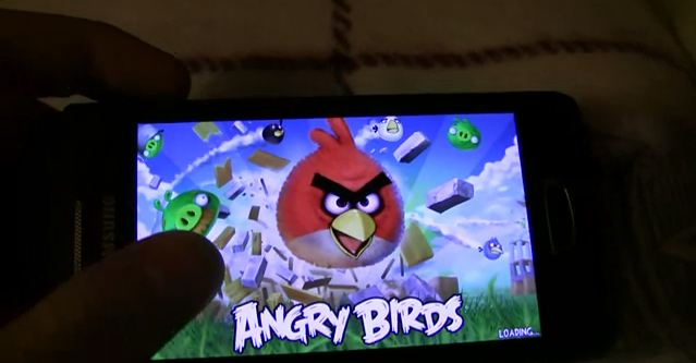 angrybirds bada wave3 [Video] Angry Birds auf dem Samsung Wave 3