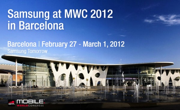 MWC2012 banner 600x368 [Video] Samsung auf dem Mobile World Congress 2012