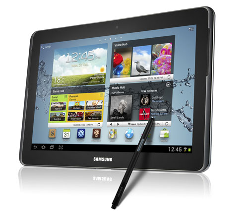 galaxy note 101 1 [MWC] Samsung Galaxy Note 10.1 vorgestellt
