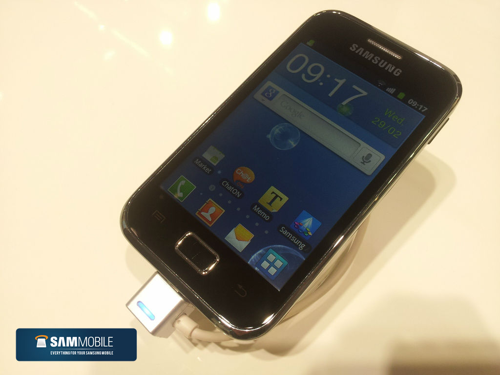 galaxy ace plus [Video] Galaxy Ace Plus Hands On