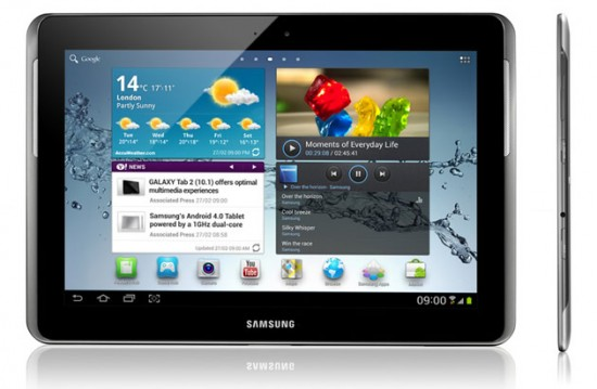 [Videos] Das Galaxy Tab 2 10.1 im Hands On