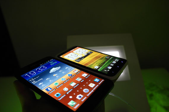 Note OneX 5 [Video] Samsung Galaxy Note vs. HTC One X Vergleich
