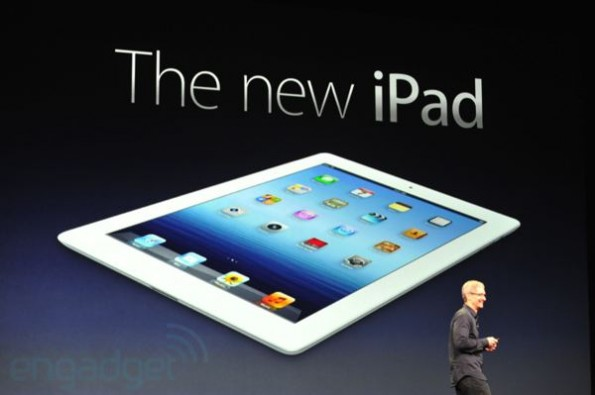 the new ipad is official 595x395 Und wer fertigt das Display des neuen iPads?