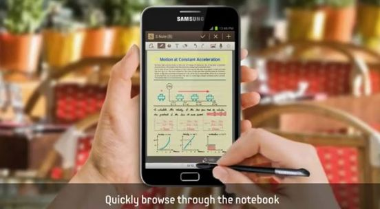 Android 4.0 für das Galaxy Note inklusive Premium Suite im Video