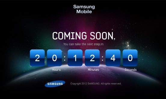 nextgalaxy countdown The Next GALAXY   Samsung startet Countdown, was kommt in 20 Stunden?
