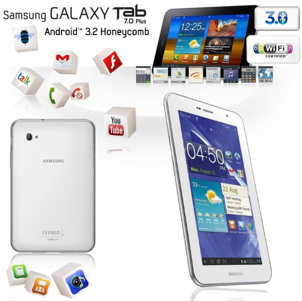 sgt7plus ibood Samsung Galaxy Tab 7.0 Plus 16GB/3G auf iBood.de für 335,90€ [Deal]