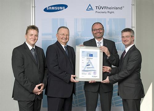 Samsung Smart TVs mit TÜV Rheinland Zertifizierung - All About Samsung