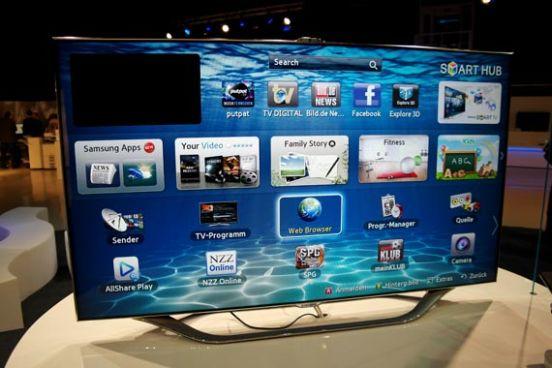 samsung smart tv fernseher einebinsenweisheit. Black Bedroom Furniture Sets. Home Design Ideas