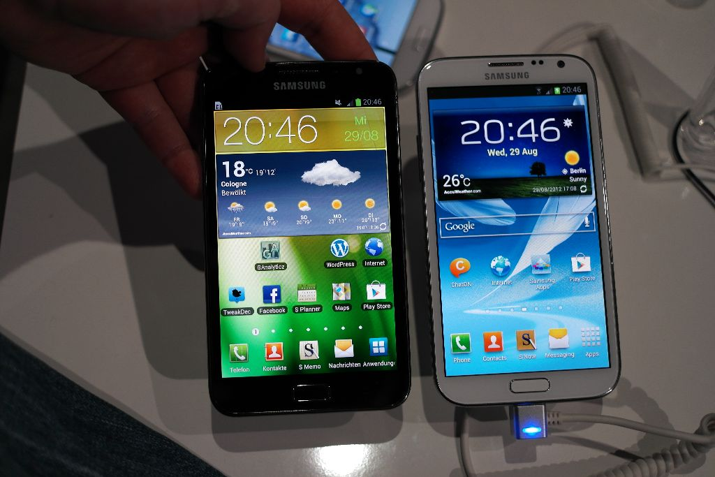 Foto Samsung Galaxy Note vs Galaxy Note II   lohnt sich das Upgrade? (Video)