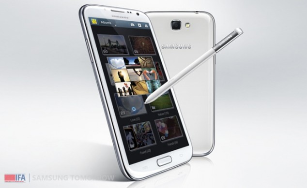 GALAXY Note II Product 1 634x389 [IFA] Das Samsung Galaxy Note II