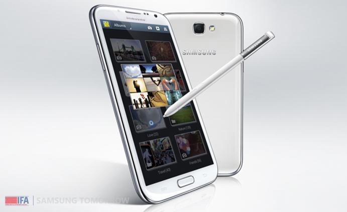 Samsung auf der IFA in Berlin vorgestellt: Das Samsung Galaxy Note II