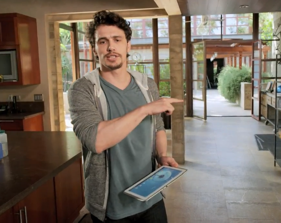 GalaxyNote101 JamesFranco Samsung Galaxy Note 10.1 Werbespot mit James Franco (Video)