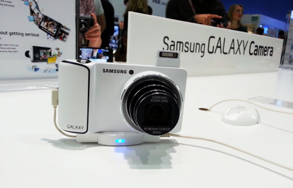 Galaxy Camera Samsung Galaxy Camera Hands On   ein erster Eindruck (Video)