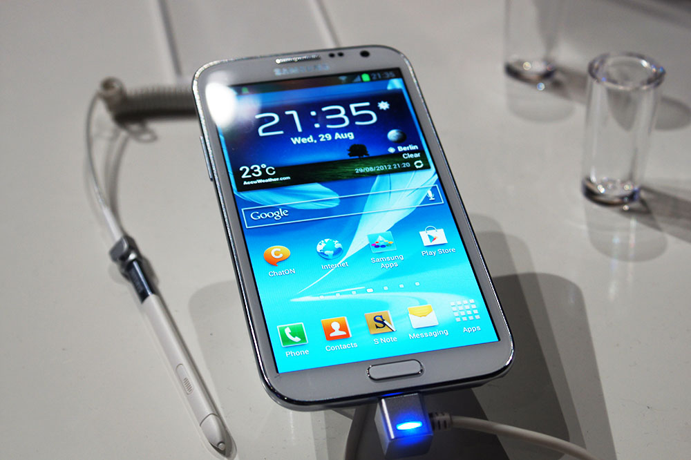 Samsung Galaxy Note 2 Samsung Galaxy Note 2 Hands On   mein erster Eindruck (Video)