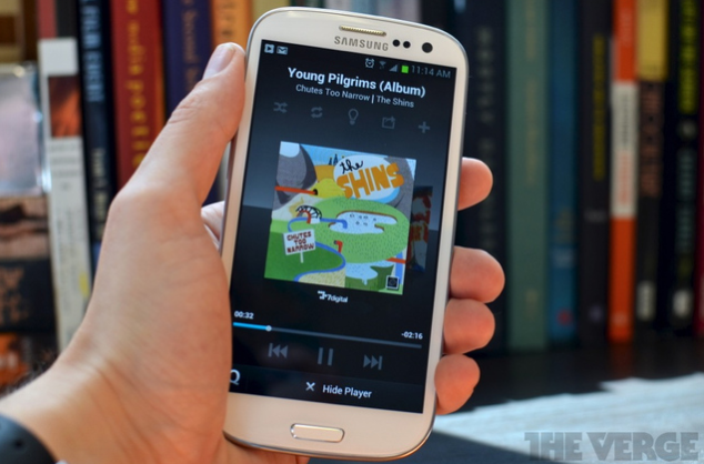 Samsung music hub Samsung Music Hub startet in den USA   Konkurrenz zu Spotify und Co (Video)