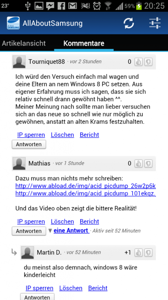 Screenshot 2012 08 28 20 25 09 562x1000 Die AllAboutSamsung App in der Version 2.2