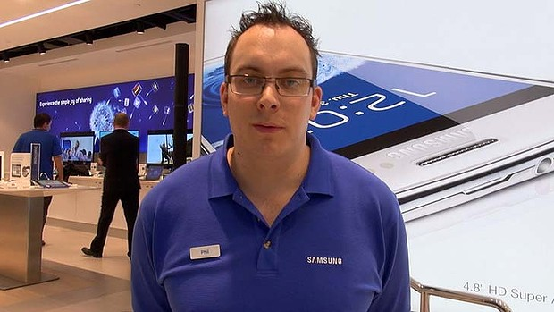 art samsungstore Samsungs erster Store in Sydney (Video)