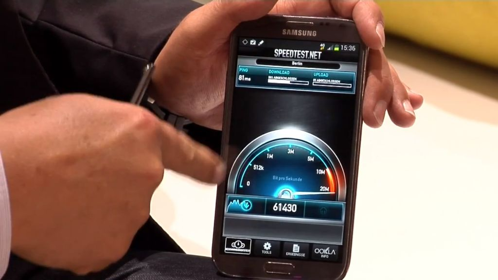 GalaxyNOte2 lte Samsung Galaxy Note II LTE im Hands On der Telekom (Video)