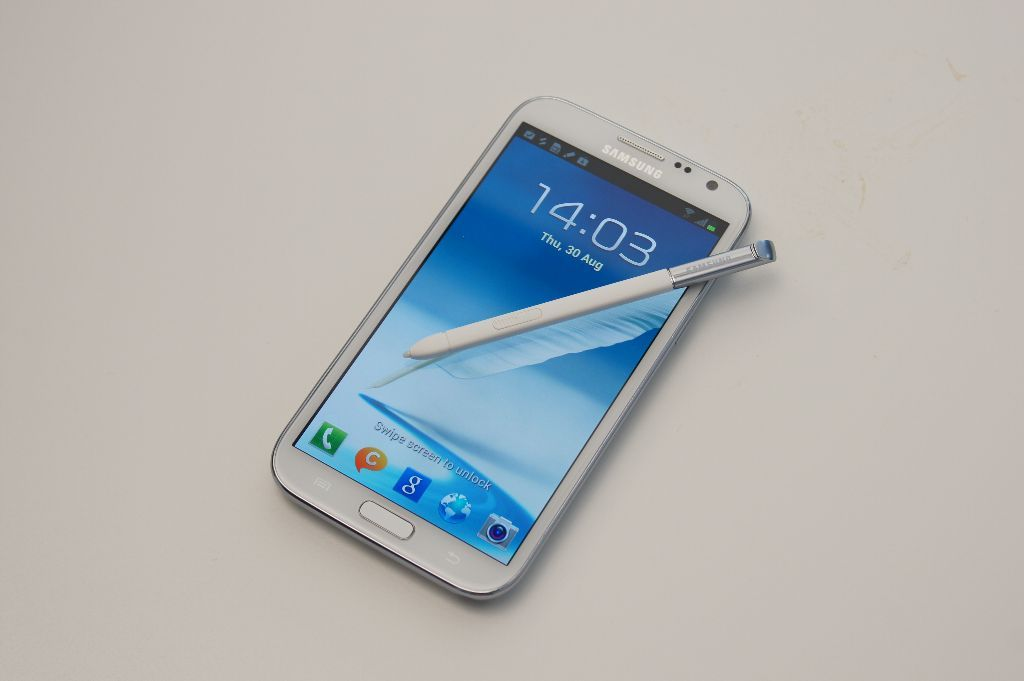 Galaxy Note II Offizielles Samsung Galaxy Note II Hands On (Video)