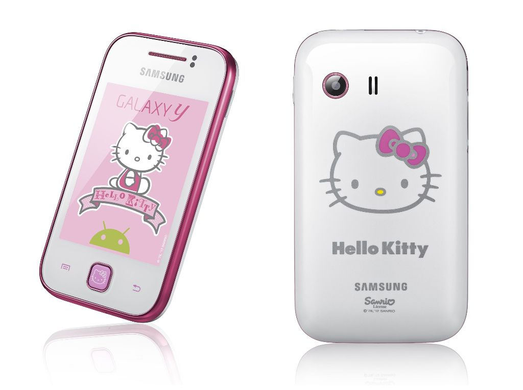 Galaxy y hello kitty Samsung Galaxy Y in der Hello Kitty Edition angekündigt