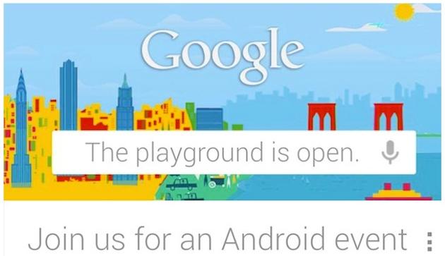 Google-Event am Montag fällt Sturm \