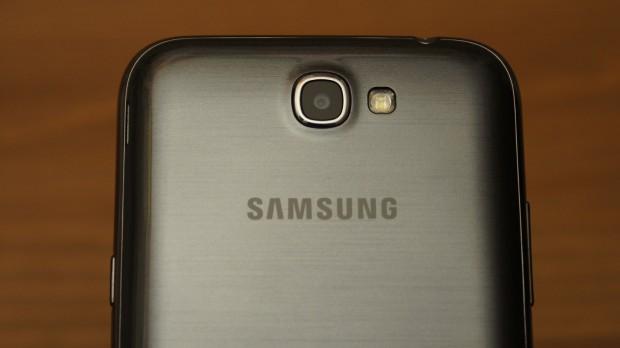 Die Kamera des Samsung Galaxy Note II