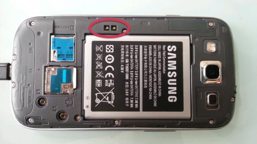 S3 rückseite offen Modul für das kabellose Aufladen geht in Serie   für das Galaxy S III und sogar das Galaxy Note II?