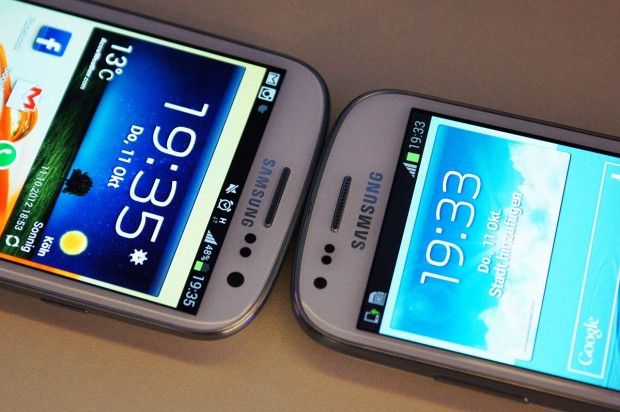Das Samsung Galaxy S III Mini und der große Bruder