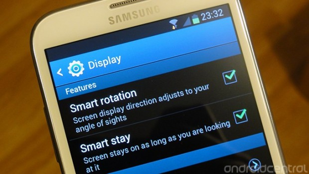 smart rotation 620x349 Samsung Galaxy Note II kommt mit Smart Rotation Funktion