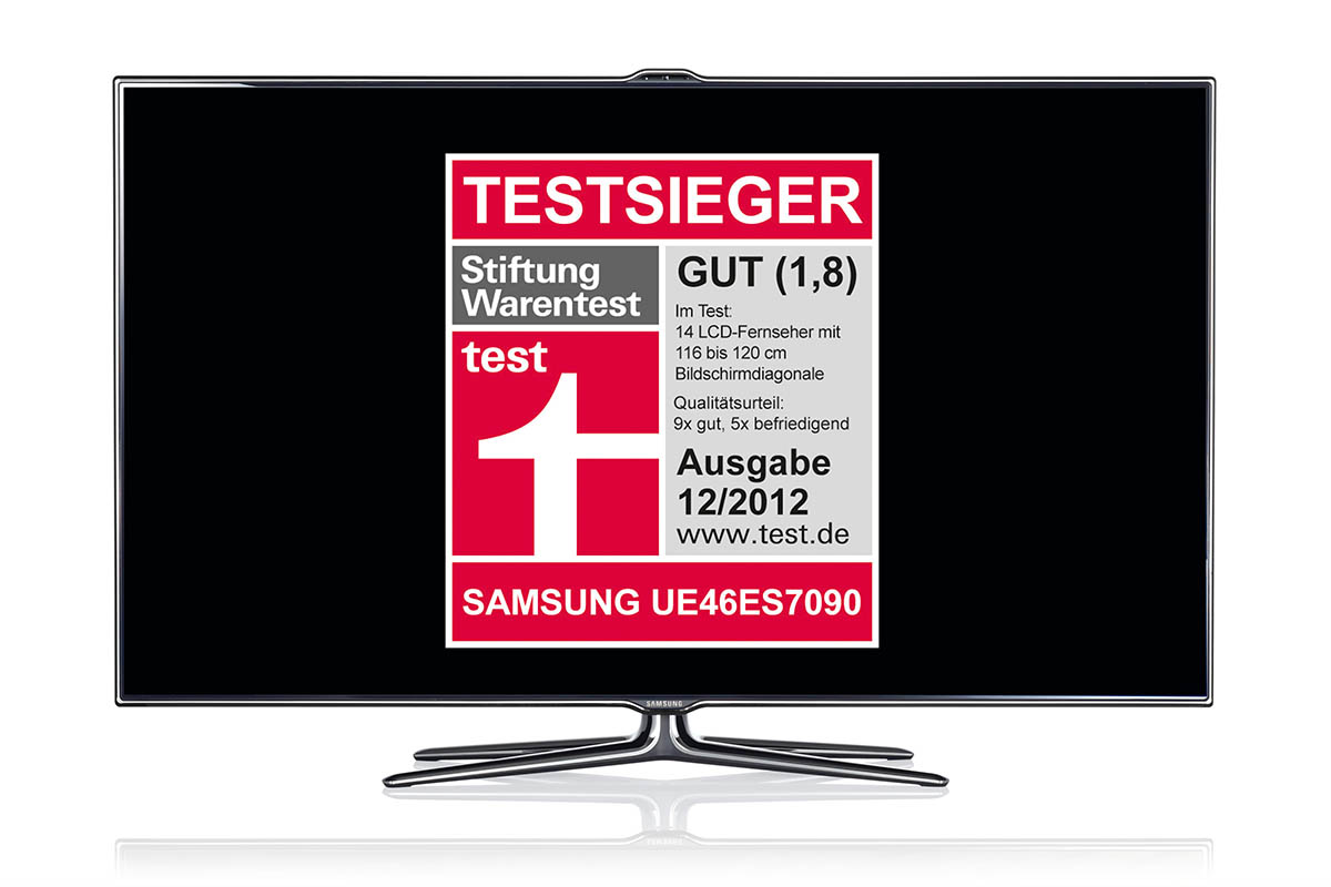 stiftung warentest bester fernseher 2012 kommt von. Black Bedroom Furniture Sets. Home Design Ideas