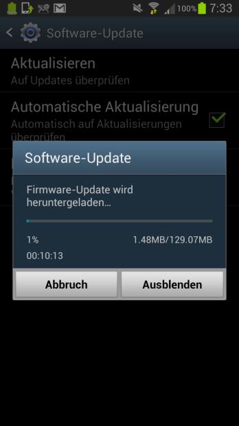 Android 4.1.2 für das Samsung Galaxy S III OTA verfügbar