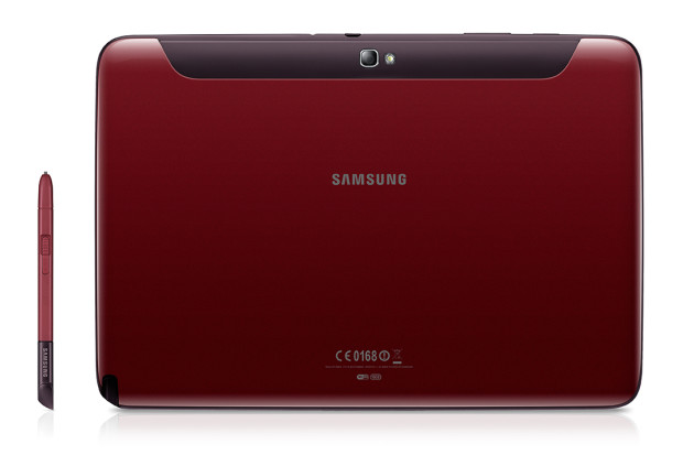 Galaxy Note 101 rot 2 620x413 Samsung Galaxy Tab 2 7.0 und 10.1 sowie Galaxy Note 10.1 in garnet red angekündigt