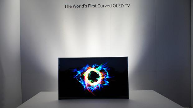 Samsung OLED TV gebogen