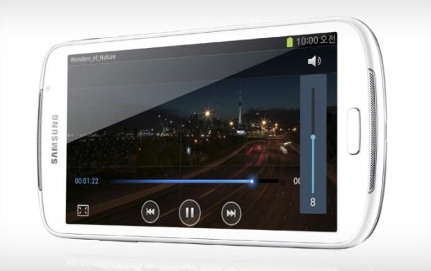 Hier im Bild: Der Galaxy Player 5.8, das Galaxy Phonblet soll ein ähnlich großes Display haben.