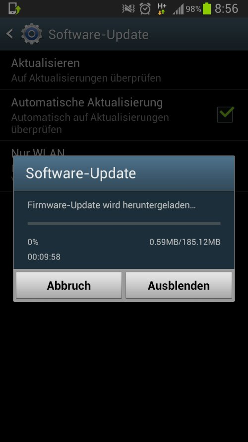 wpid Screenshot 2013 01 10 08 56 25 Samsung Galaxy Note II bekommt Android 4.1.2 in Deutschland