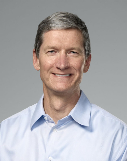 apple exec tim cook 490x620 Apples CEO Tim Cook: OLED Displays sind furchtbar