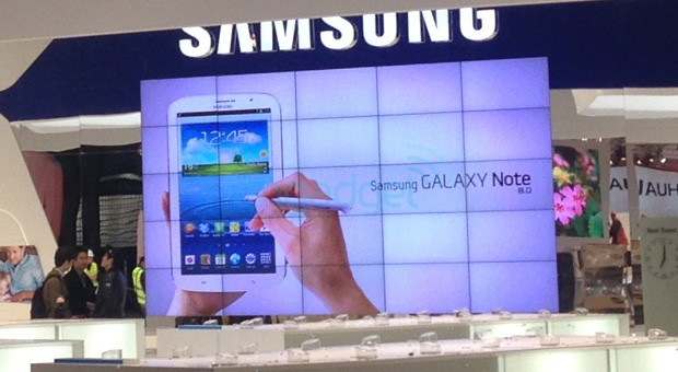 galaxy note 8 spy [Update2] Erste Videos: Samsung Galaxy Note 8.0 auf dem MWC 2013 gesichtet