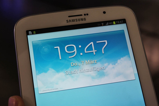 Samsung Galaxy Note 8.0 Display