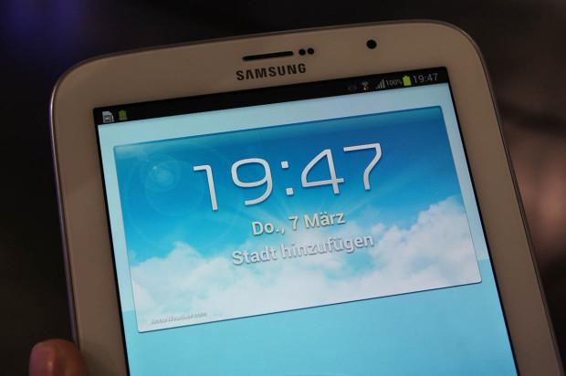 Samsung Galaxy Note 8.0 Display