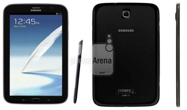 Samsung Galaxy Note 8 0 Charcoal Black 620x366 Samsung Galaxy Note 8.0 in schwarz aufgetaucht
