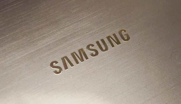 Samsung Logo Metall