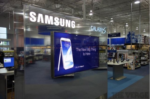 BestBuy Experience shops 1 620x409 Best Buy richtet in den USA 1.400 Samsung Experience Shops ein