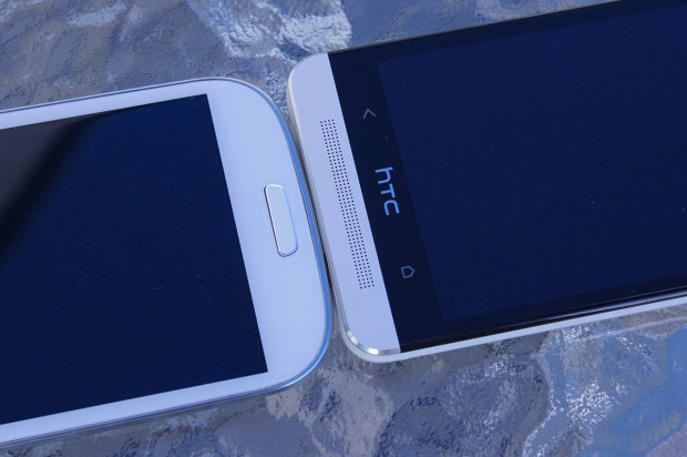 SGS3 vs HTC One