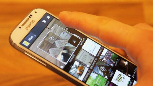 Airview bei dem Samsung Galaxy S4