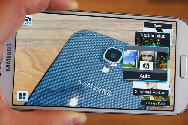 Samsung Galaxy S4 Kamerafunktionen