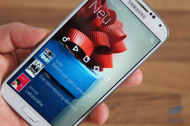 Samsung Galaxy S4 Logo 620x412 Samsung Galaxy S4, iPhone 5 und Galaxy S III im Falltest und Wasserbad [Video]