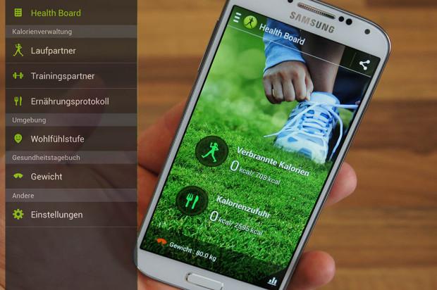 S Health Samsung Galaxy S4